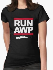 RUN AWP Womens Fitted T-Shirt