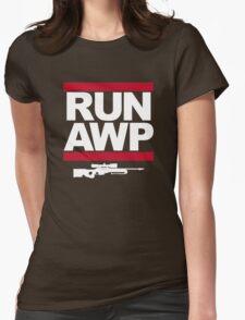 RUN AWP Womens Fitted T-Shirt