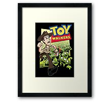 Toy Walkers (color) Framed Print
