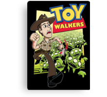 Toy Walkers (color) Canvas Print