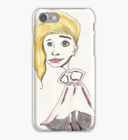 not your typical bride iPhone Case/Skin
