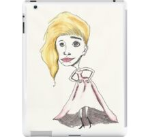 not your typical bride iPad Case/Skin