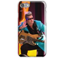 Bass player in the Beavers iPhone Case/Skin