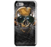 Biker Skull iPhone Case/Skin