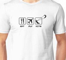 eat - fly - kite Unisex T-Shirt