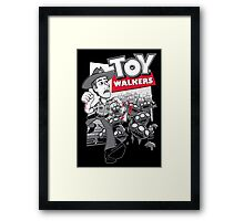 Toy Walkers Framed Print