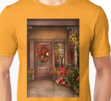 Winter - Store - Metuchen, NJ - Dressed for the holidays Unisex T-Shirt