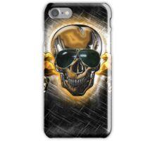 Biker Skull III iPhone Case/Skin