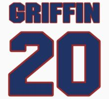 National football player Cedric Griffin jersey 20 by imsport