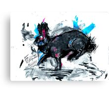 Fozzy the flemish giant Canvas Print