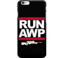 RUN AWP iPhone Case/Skin