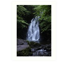 Waterfall Print (2) / Lovely Photo of a waterfall in Ireland Art Print
