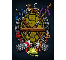 Turtle Family Crest - Full Color Photographic Print