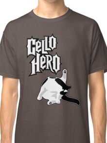 Cello Hero: Cat Edition Classic T-Shirt