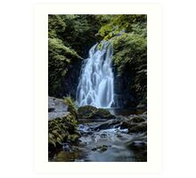 Waterfall Print (3) / Lovely Photo of a waterfall in Ireland Art Print