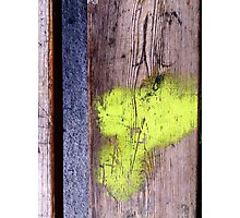100% Abstract.  Photographic Print