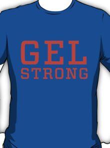 Gel Strong - Orange Text T-Shirt