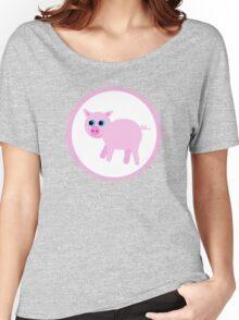 Piggy Pig Shirt Women's Relaxed Fit T-Shirt
