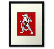 COOL CAT T-SHIRTS Framed Print