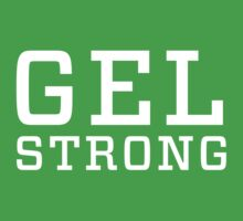 Gel Strong - White Text by gelstrong