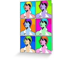 Pop Art - Johanna Greeting Card