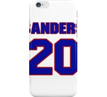 National football player Barry Sanders jersey 20 iPhone Case/Skin