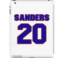 National football player Barry Sanders jersey 20 iPad Case/Skin