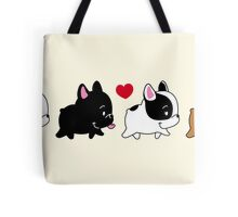 Frenchie Familly Tote Bag
