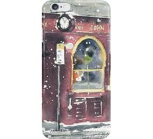 Leslie's Bar (snow) iPhone Case/Skin