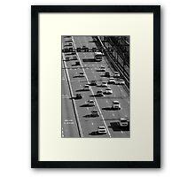 City Grind Framed Print