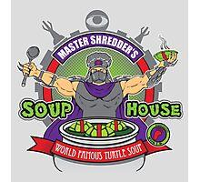 TMNT Master Shredder's Soup House Photographic Print