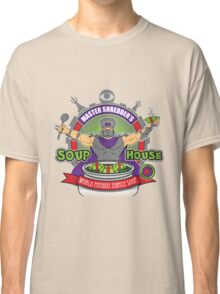 TMNT Master Shredder's Soup House Classic T-Shirt