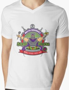 TMNT Master Shredder's Soup House Mens V-Neck T-Shirt