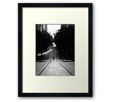 J Walking Framed Print
