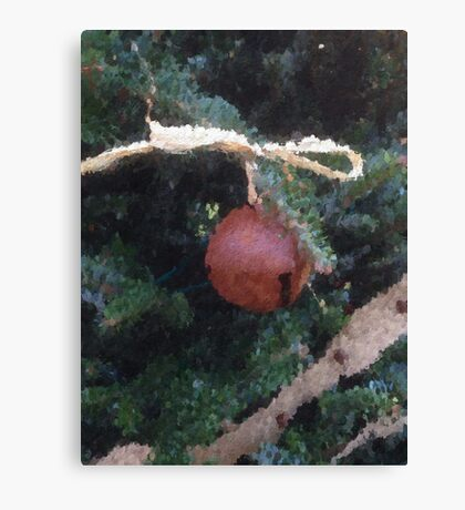 Red Ball decoration Canvas Print