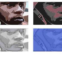 Coloured army man by Venom22