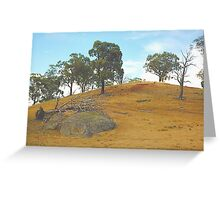 Water ....Please ! -  Only The Strong Survive - Northern NSW, Australia Greeting Card