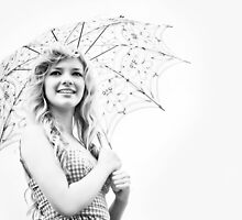 Parasol Princess High Key by Samantha Cole-Surjan