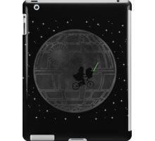 Warlord and green alien bike ride iPad Case/Skin