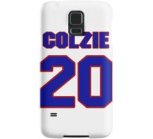 National football player Neal Colzie jersey 20 Samsung Galaxy Case/Skin
