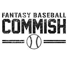 Fantasy Baseball Commish Photographic Print