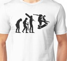 evolution of skateboard t-shirt Unisex T-Shirt