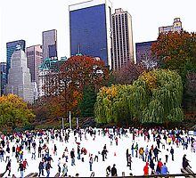 City Skaters by Wendy Mogul