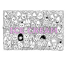 Ice Cream: My Favourite Food Photographic Print