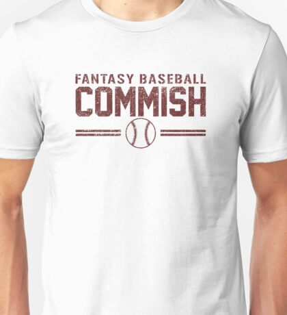 Fantasy Baseball Commish Unisex T-Shirt