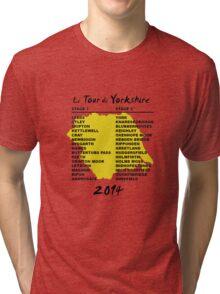 Tour de Yorkshire 2014 Front Tri-blend T-Shirt