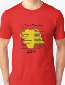 Tour de Yorkshire 2014 Front T-Shirt