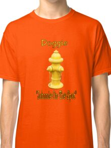 """Doggie """"Johnny-On-The-Spot""""! Classic T-Shirt"""