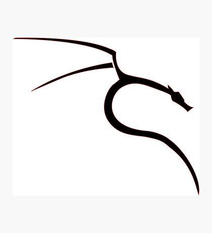 Kali linux ultimate logo [UltraHD] Photographic Print