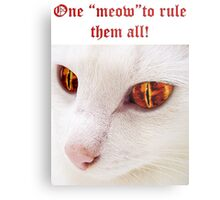 Lord of the Cats Metal Print